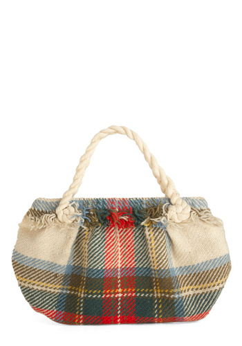 Vintage Catch a Cabin Handbag
