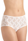 Hibiscus Whisper Undies in Pink by Only Hearts - Sheer, Lace, Vintage Inspired, Pink