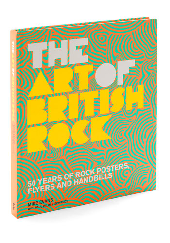 The Art of British Rock - Multi, Vintage Inspired, Dorm Decor, Scholastic/Collegiate