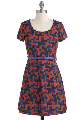 Interlocking Up Dress