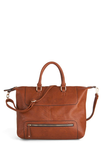 Out on the Tawny Bag - Brown, Solid, Casual, Travel, Rustic, Work