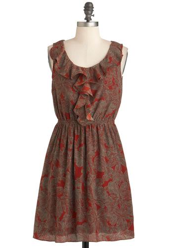 Cinnamon Bark Dress