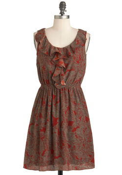 Cinnamon Bark Dress