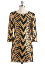 Gold Lang Syne Dress