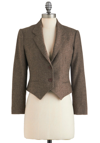 Vintage Tweed the Way Blazer