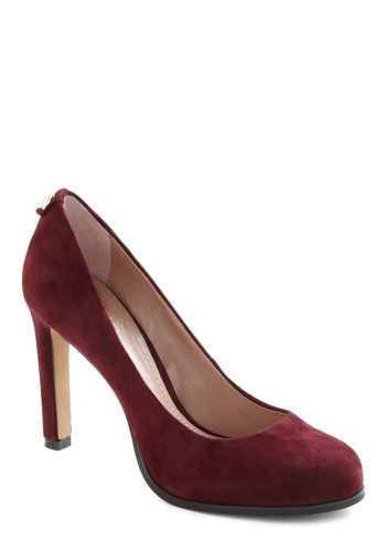 All That and Amour Heel - Red, Gold, Solid, High, Work, Holiday Party, Leather, Pinup