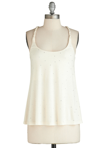 Sample 2302 - Cream, Braided, Racerback