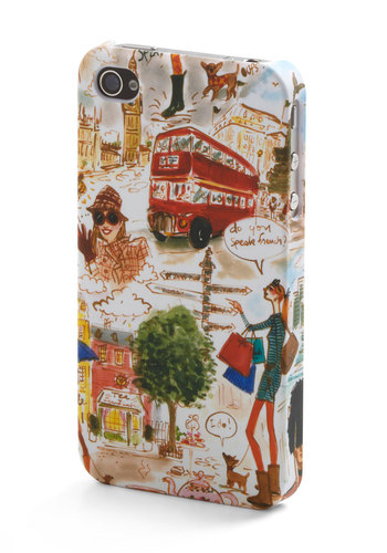 World Wide Web Celeb iPhone Case - Multi, Travel