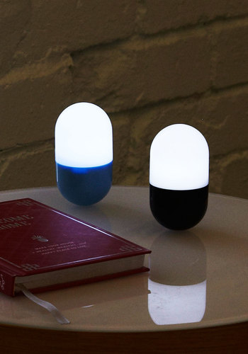 Portable Pharma-see Light by Kikkerland - Blue, Black, Dorm Decor, Variation, Travel