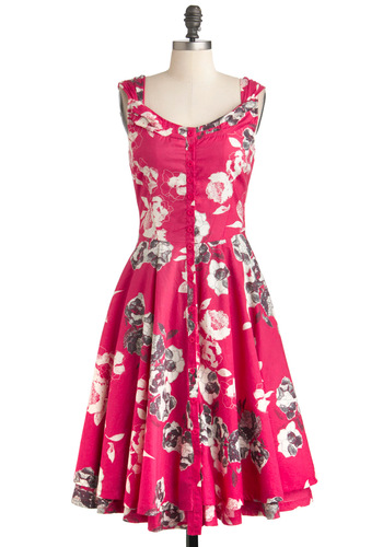 Drawn to Your Beauty Dress
