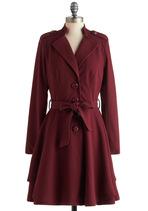 Plum Enchanted Evening Coat