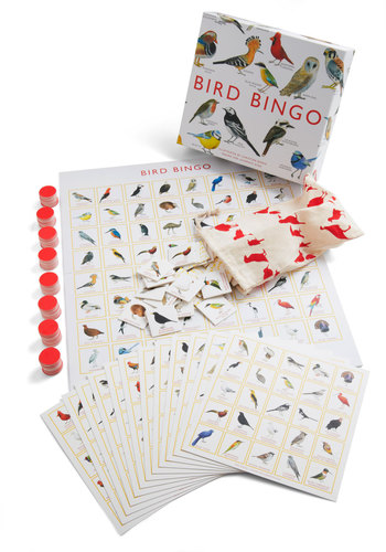 Bird Bingo Set by Chronicle Books - Multi