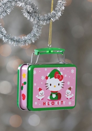 Something to Tidings You Over Ornament in Hello Kitty - Kawaii, Multi, Holiday