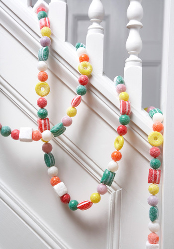 Dancing Candy Garland - Multi, Vintage Inspired, Holiday