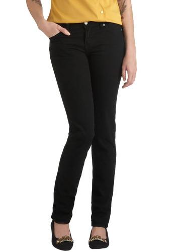 Spring in Every Season Jeans in Onyx - Black, Solid, Pockets, Skinny, Denim, Cotton, Variation