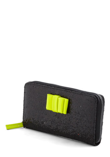 Very Important Patron Wallet - Black, Yellow, Solid, Bows, Glitter, Girls Night Out, Neon, Tis the Season Sale