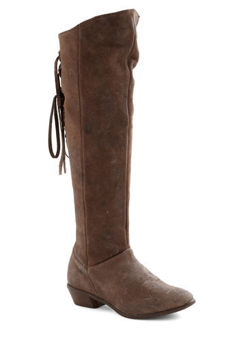 Deep In the Heart Boot - Low, Leather, Brown, Solid, Casual, Rustic