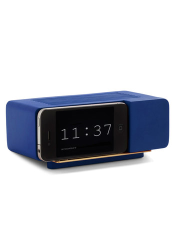 Wake Up Call iPhone Dock in Blue - Blue, Vintage Inspired, Dorm Decor