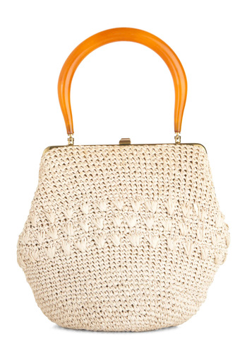 Vintage Weave Them Breathless Handbag