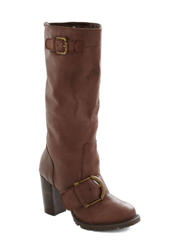 Missoula You Much Boot - Mid, Leather, Brown, Buckles, Safari