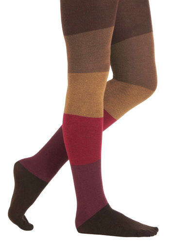 Berry Bramble Tights - Multi, Fall, Colorblocking