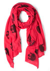 Hamlet It Up Scarf - Pink, Black, Print, Urban, Statement, Halloween