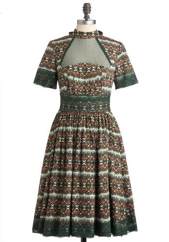 As Elegance Crescendos Dress