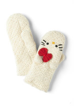Crochet Hello for Me Mittens
