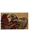 Flight to the Finish Doormat - Dorm Decor, Red, Tan / Cream
