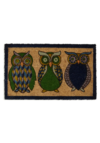 Owl the Better Doormat - Owls, Dorm Decor, Top Rated
