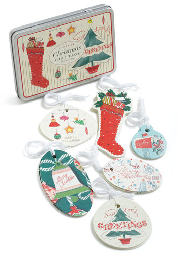 The Note That Counts Gift Tags - Multi, Holiday