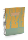 Write on Schedule Planner - Yellow, Green, Dorm Decor, Scholastic/Collegiate