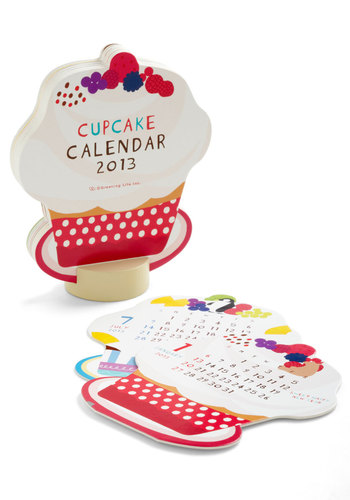 Sprinkle in Time 2013 Desk Calendar - Multi, Dorm Decor, Work, Holiday