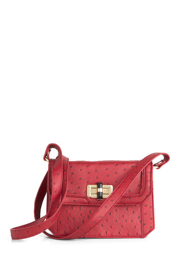 Cayenne We Meet Again Bag - Red, Solid