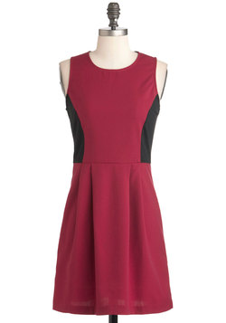 Raspberry Cordial Dress