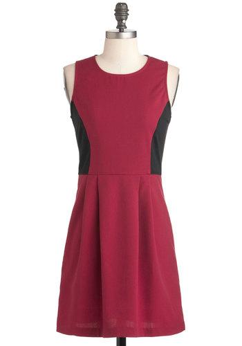 Raspberry Cordial Dress