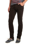 Major Chord-uroy Pants - Cotton, Brown, Solid, Casual, Skinny