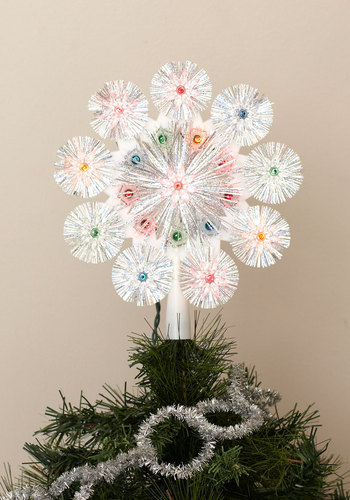 Cheer to Eternity Tree Topper - Multi, Holiday