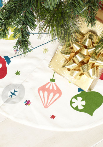 Ornament for You Tree Skirt - Multi, Holiday, Print