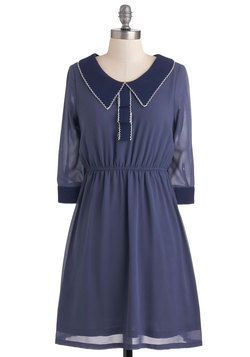Blueberry Ribbon Dress