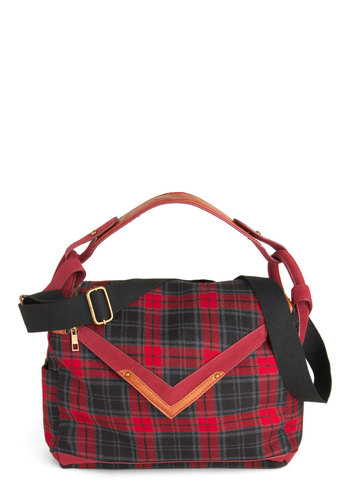 It's In the Bag - Red, Plaid, Black, Casual, Winter, Tis the Season Sale