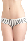 Last Minute Practice Undies - Grey, White, Stripes, Bows, Lace, Trim, Jersey, Sheer