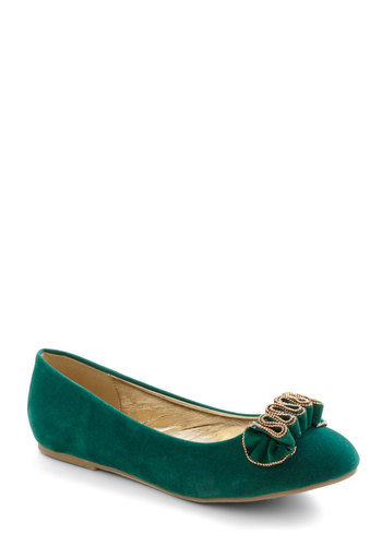 Spruce the Force Flat - Green, Flat, Ruffles, Fall, Tis the Season Sale