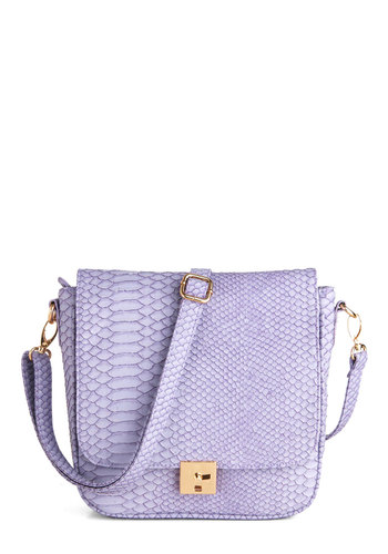 I Lilac It Like That Bag - Purple, Luxe, Animal Print, Press Placement