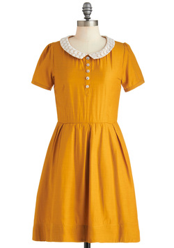 Goldenrod to Happiness Dress