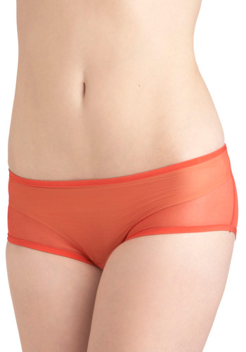 No Time to Delay Undies in Rouge by Only Hearts - Red, Solid