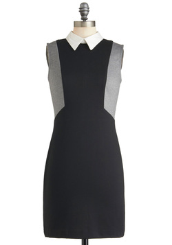 Greyscale Graphics Dress