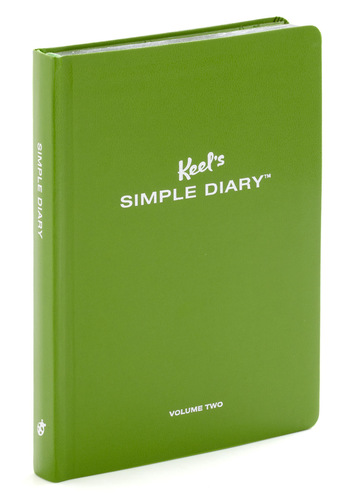 Keel's Simple Diary - Green, Dorm Decor, Handmade & DIY