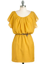 Casual - It Mustard Been Love Dress