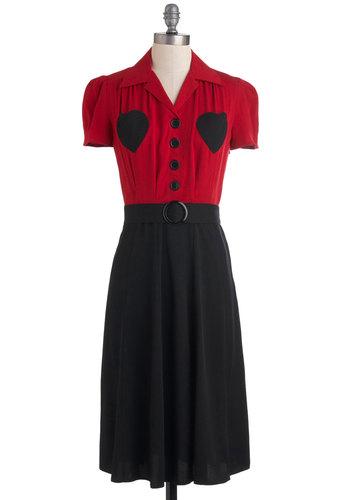 Retro Revamp Dress in Heart
